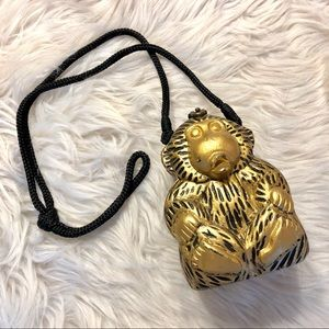 Timmy Woods | Handcarved Gilded Monkey Purse